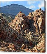 Colors In The Desert Canvas Print
