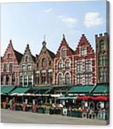 Colors Of Brugge Canvas Print