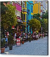 Colors Of Istanbul Street Life Canvas Print