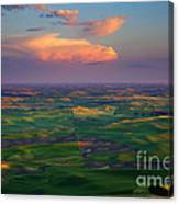 Colors Of The Palouse Canvas Print