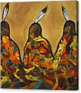 Colors Of Three Canvas Print