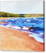 Colors Of Water Canvas Print