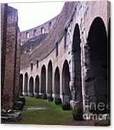 Colosseum Vomitorium Canvas Print