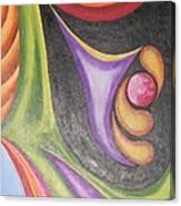 Colourful Wind Canvas Print