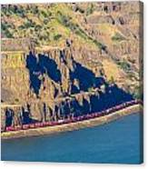 Columbia River Gorge Canvas Print