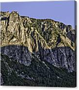Columbia Rock Outlook Canvas Print