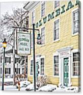 Columbian House In Waterville Oh Canvas Print