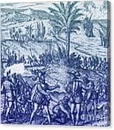 Columbus Arrested Canvas Print