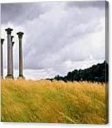 Columns 2 Canvas Print