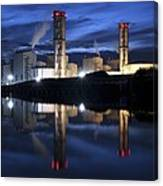 Combined Cycle Gas Turbine Power Station Canvas Print