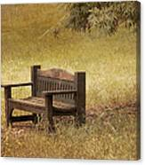 Come And Sit A Spell Canvas Print