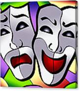 Comedy And Tragedy Canvas Print