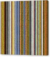 Comfortable Stripes Vlll Canvas Print