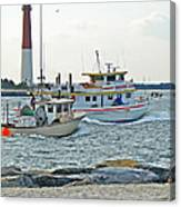 Coming Home - Barnegat Inlet Nj Canvas Print