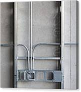 Commercial Building Under Construction Canvas Print