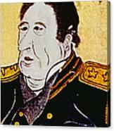 Commodore Matthew C. Perry 1794-1858 Canvas Print
