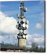 Communications Tower Canvas Print