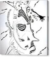 Comoros Islands Dance Canvas Print
