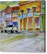 Company Street Canvas Print
