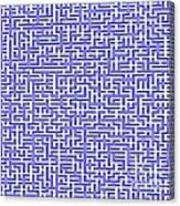 Complex Maze Canvas Print