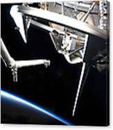 Components Of Space Shuttle Discovery Canvas Print