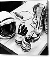 Components Of The Mercury Spacesuit Canvas Print