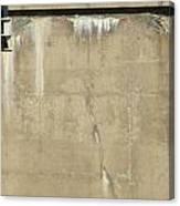Concrete And Metal Canvas Print