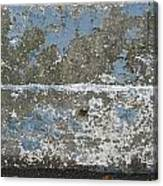Concrete Blue 2 Canvas Print