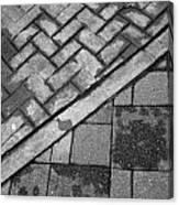 Concrete Tile - Abstract Canvas Print