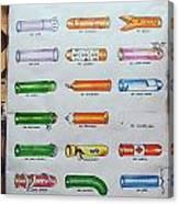 Condom Compendium Sign Thailand Canvas Print