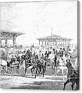 Coney Island, 1877 Canvas Print