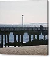 Coney Island Coast Canvas Print