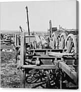 Confederate Cannon Canvas Print