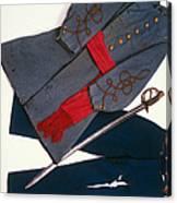 Confederate Uniform Canvas Print