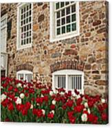 Conference House In Tottenville Canvas Print