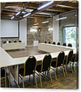 Conference Room Canvas Print