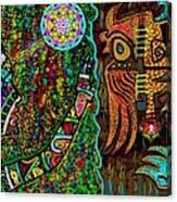 Confessions Of A Soul Traveller Canvas Print