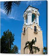 Congregational Church Of Coral Gables Canvas Print