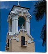 Congregational Church Tower Canvas Print