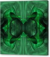 Conjoint - Emerald Canvas Print