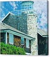 Conneticut Coastal Home Canvas Print