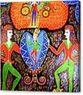 Consortium On Egg Canvas Print
