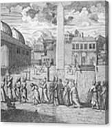 Constantinople, 1727 Canvas Print