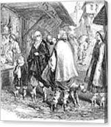 Constantinople, 1854 Canvas Print