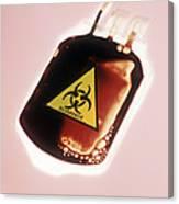 Contaminated Blood Canvas Print