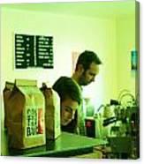 Contraband Coffee Canvas Print