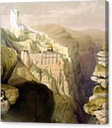 Convent Of St Saba Canvas Print