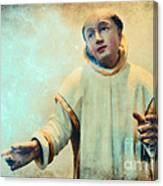 Conversation With God Canvas Print