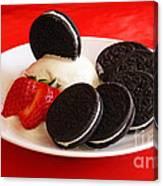 Cookies N Cream Canvas Print