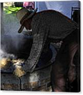 Cooking Cane Canvas Print